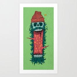Lumber 3 Art Print