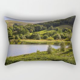 Private Fishing on Doly mynach Rectangular Pillow