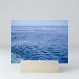 She Fell in Love on the Vast Wild Sea Mini Art Print