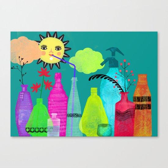 bottles & flasks Canvas Print