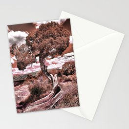 Twisted Juniper (Sepia) Stationery Cards