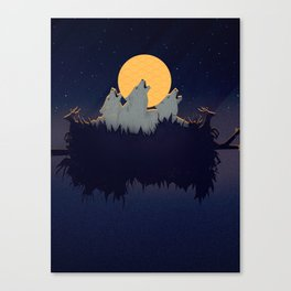 Midnight Sound Canvas Print