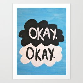 The Fault in Our Stars. Art Print