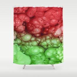 Alien Bubbles Shower Curtain