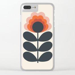 Summer Fields Clear iPhone Case