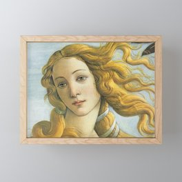 Sandro Botticelli ''The Birth of Venus'' Framed Mini Art Print