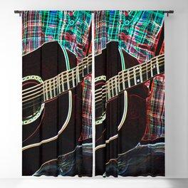 Guitar 1 Blackout Curtain