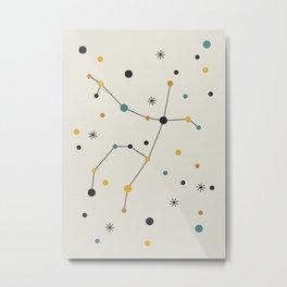 Andromeda Constellation Metal Print