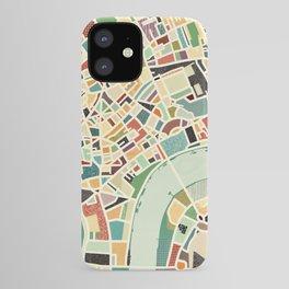 CITY OF LONDON MAP ART 01 iPhone Case