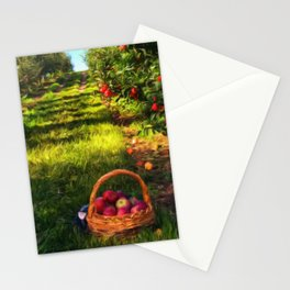 Apple Harvest Stationery Cards
