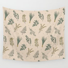 Fresh Herbs Wall Tapestry