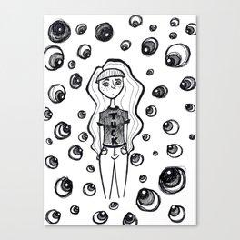 Sleep-away Anxiety Canvas Print