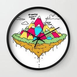 UX Hustle Summit 2018 Wall Clock