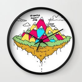 UX Hustle Summit 2018 Wall Clock