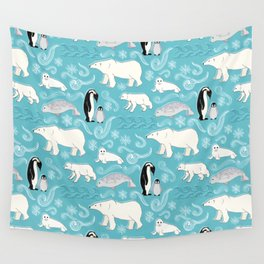 Artic Winter Wonderland Wall Tapestry