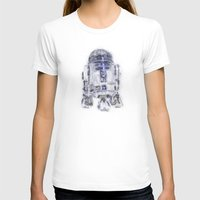 r2d2 T-shirts featuring R2D2 by KitschyPopShop