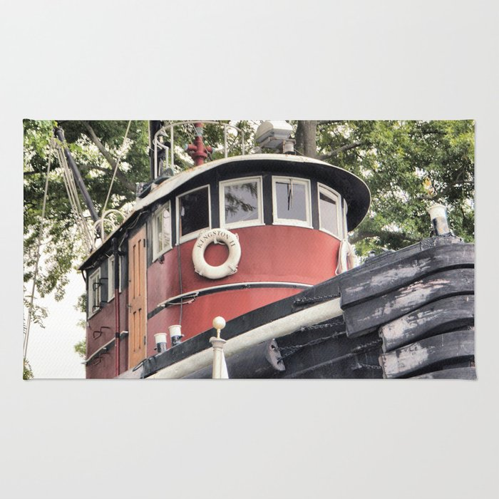 Tug Boat Rug