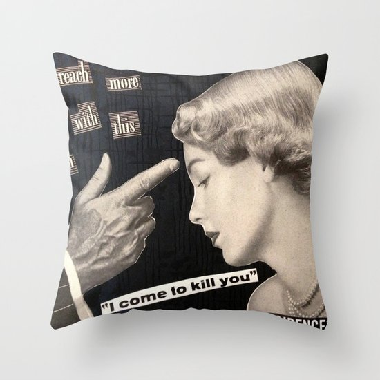 Modern Angle Throw Pillow