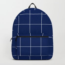 Abstraction_BLUE_PATTERN Backpack