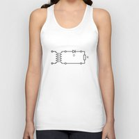 dc Tank Tops featuring AC/DC. by Bandopoly