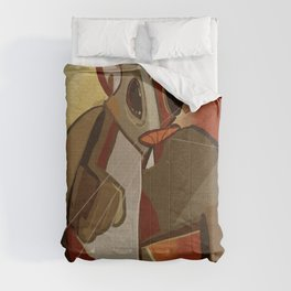 Bob the Squirrel cubed Comforters