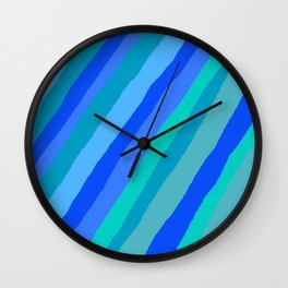 I've got the blues for you Wall Clock