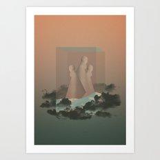 Gods And Mirror Art Print