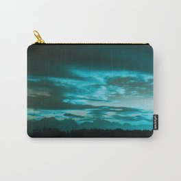 Azure Morning Carry-All Pouch