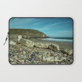Kennack sands tank wall Laptop Sleeve