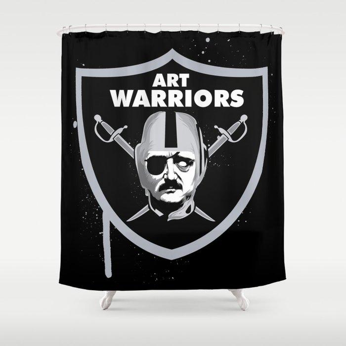 Art Raiders Shower Curtain