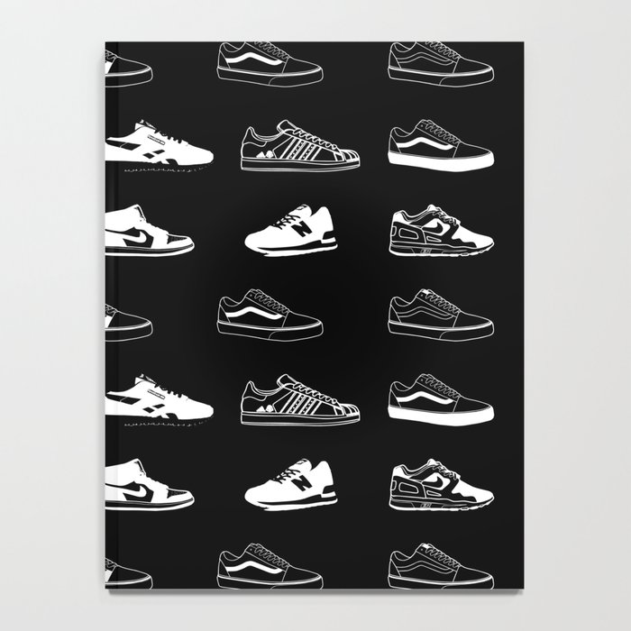 Black Sneaker Notebook