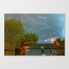 Stormy Reflection  Canvas Print