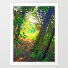 From the inside looking out  Art Print