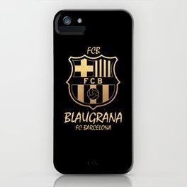 Slogan: Barcelona iPhone Case