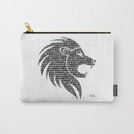Ferocious Lion Carry-All Pouch