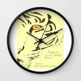 Tiger Mayonnaise Wall Clock