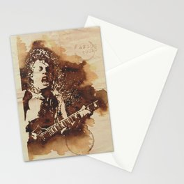 Angus Young Ilustracafe Stationery Cards