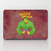 quibe iPad Cases featuring coupling up (accouplés) Donald Dhulk by quibe