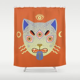 Mystic Cat Shower Curtain