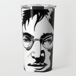 A Working Class Hero Is Something To Be Travel Mug
