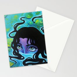 Pond Girl Stationery Cards