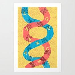 PAHL PRINT Art Print