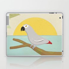 African Grey Parrot Laptop & iPad Skin