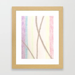 Colour Bow Framed Art Print