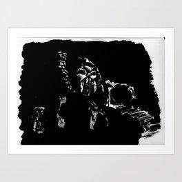 Castle Grayskull Ink Art Print