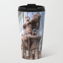 Rugby League Legends statue Wembley stadium Travel Mug