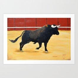 Finding Out Enterandose Arte Taurino Bullfigth Art Juan Manuel Rocha Kinkin Art Print