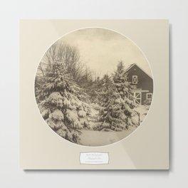 Winter Americana IV Metal Print