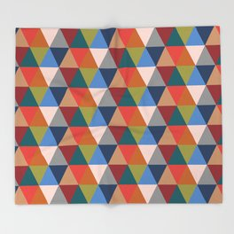 Geometric II Throw Blanket