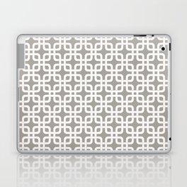 Mid-Century Modern Geometric Pattern, rounded corner squares interlocking Laptop & iPad Skin